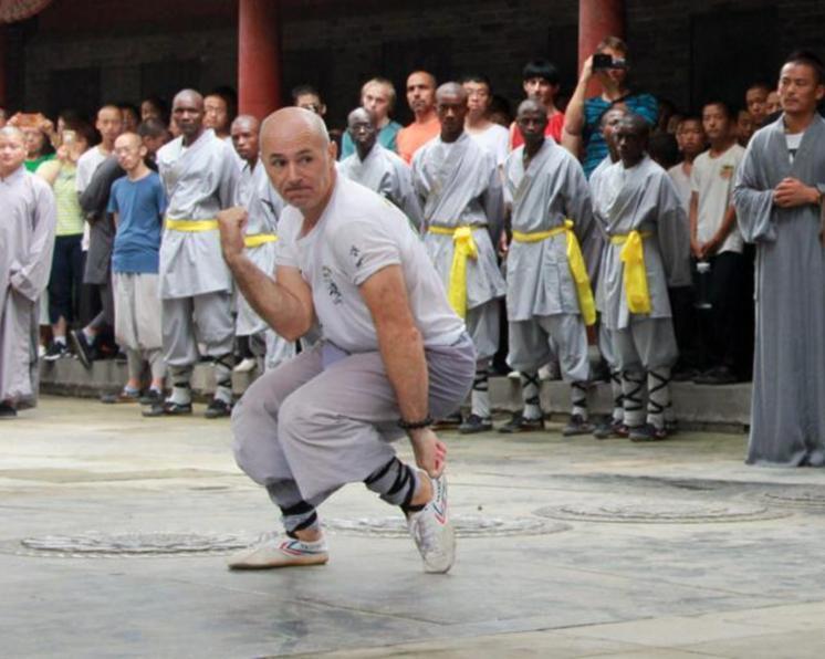 少林功夫非洲学员培训班此前已在少林寺成功举办过四届,来自20个国